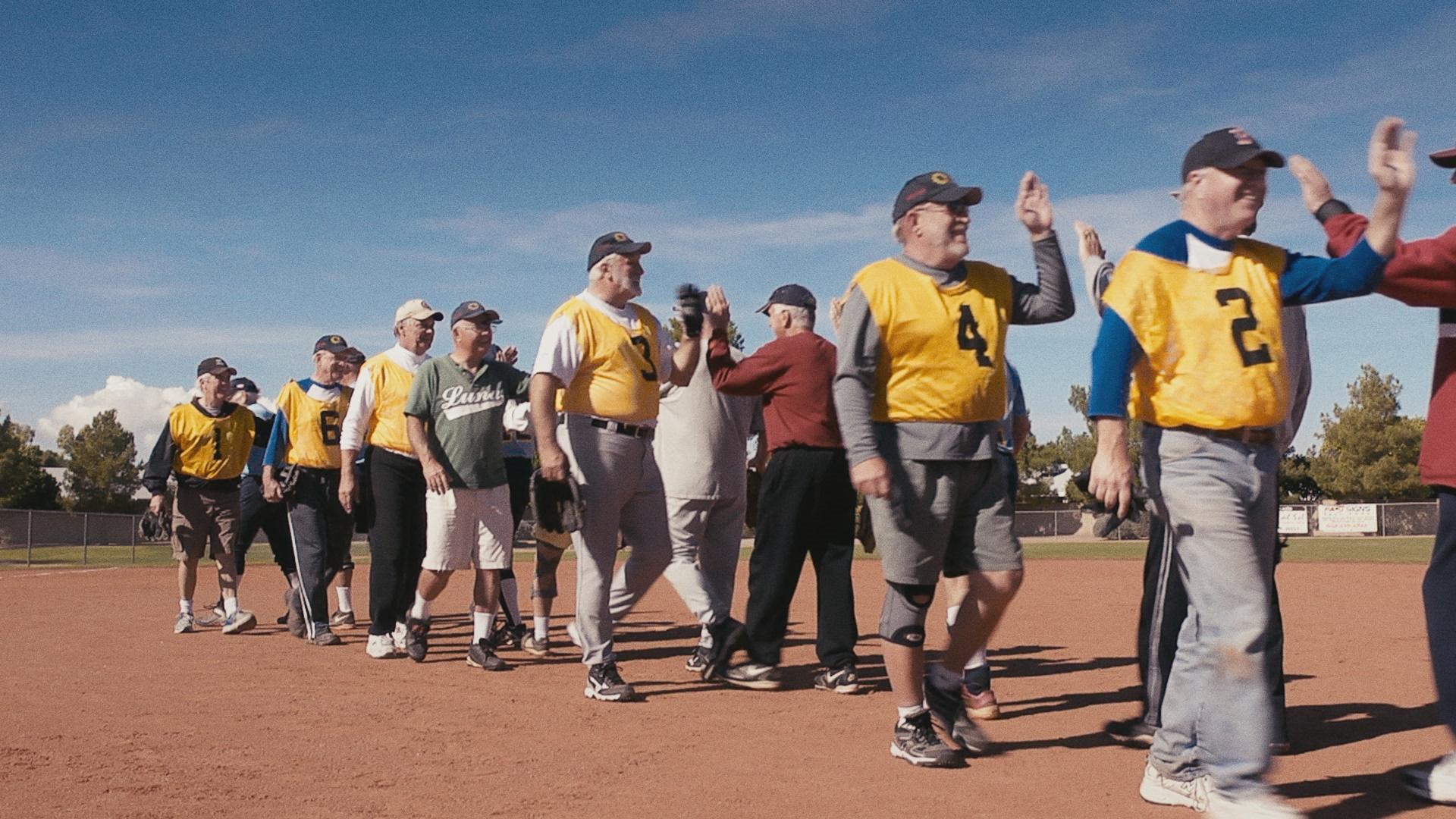 Baseballteam 55+