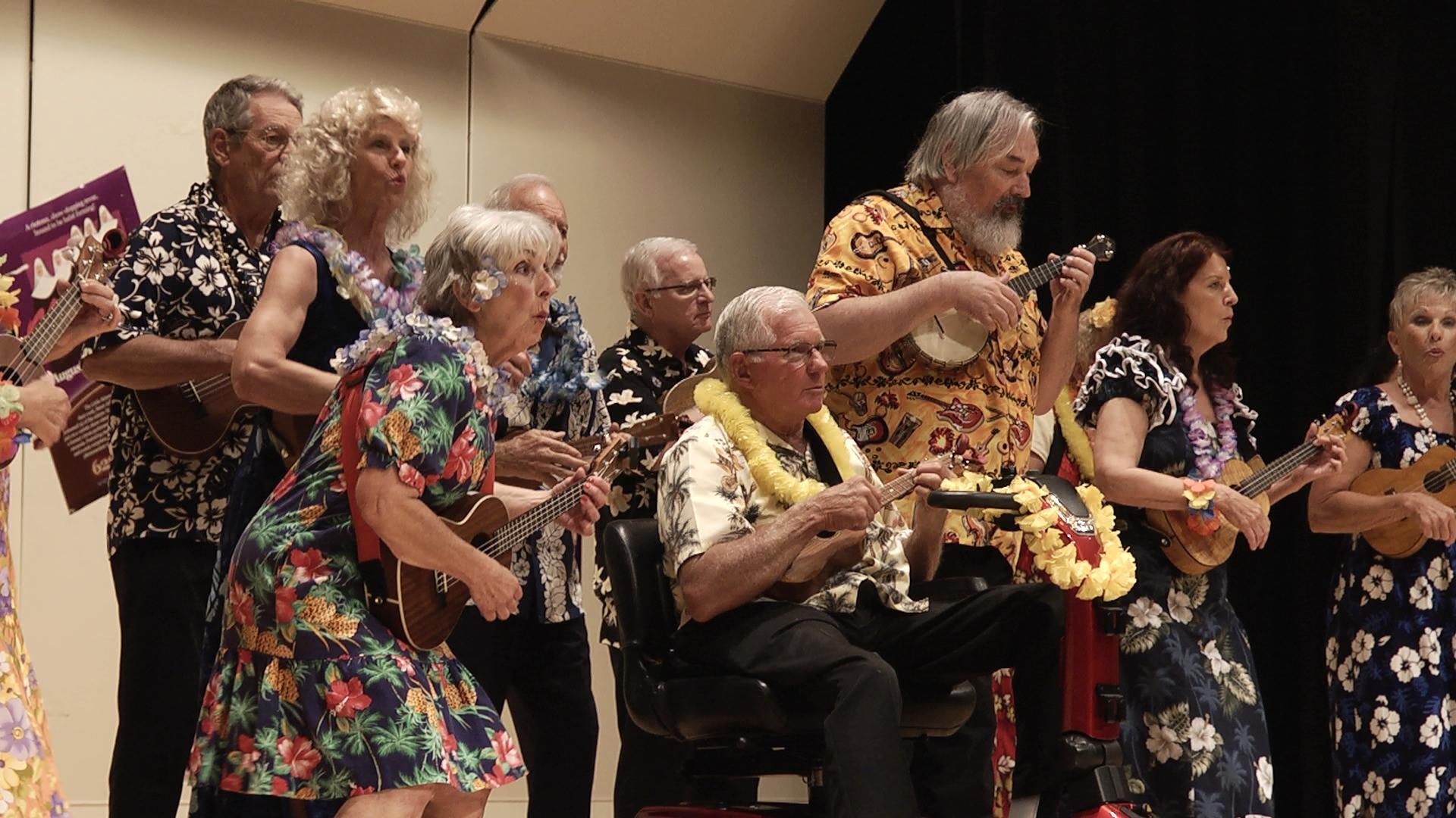 Ukulele-Band der Senioren in Sun City