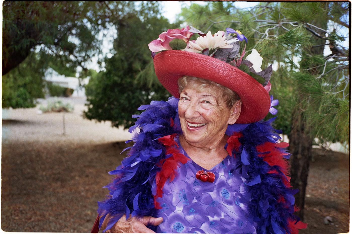 Die 80-jährige Betty Jane